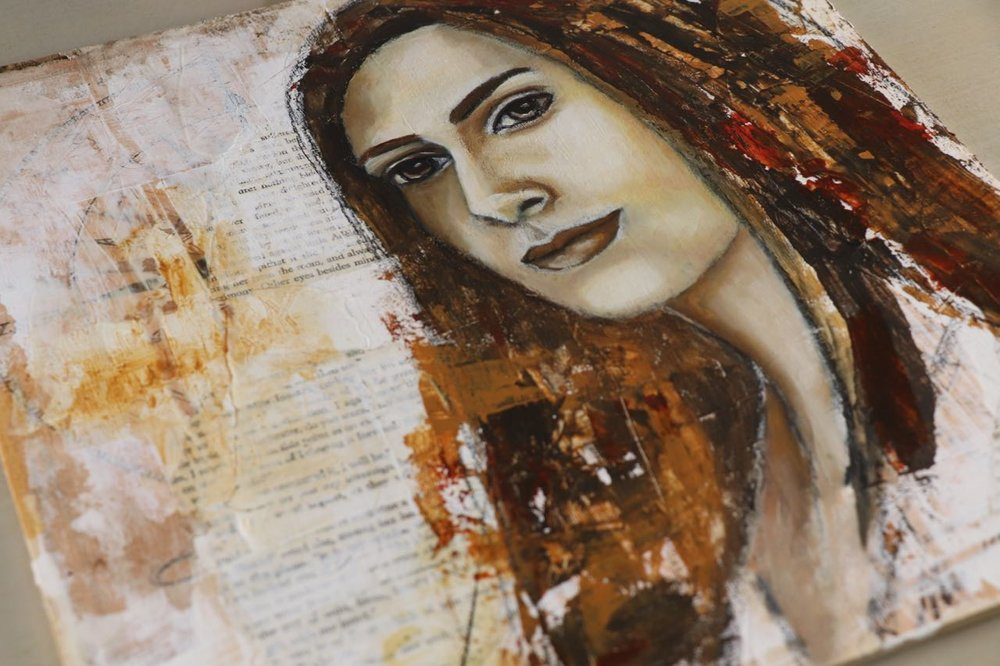 Mixed Media Painting by Melanie Rivers