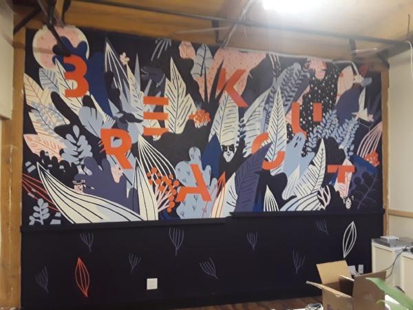 BreakOut Office Mural 2018