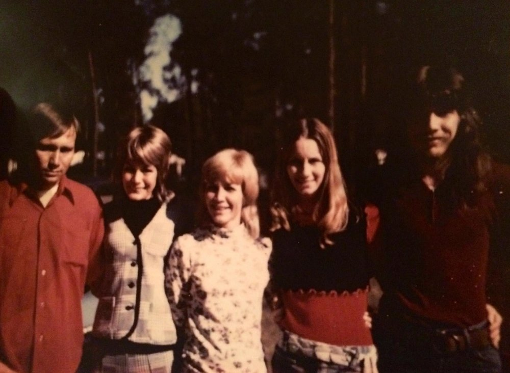 The last photo taken of Paul Allen Hayes in Phenix City, Alabama (far right) with four of his siblings: (left to right) James, Barbara, Sue, and Millie.