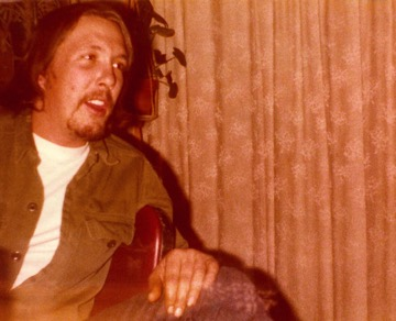 Billy telling stories, late 1970s.