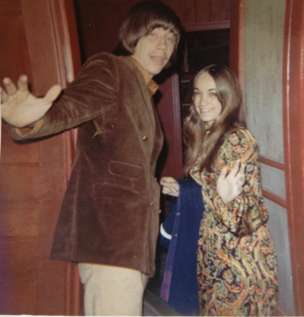 My father Paul Allen Hayes with my mother Natalie Hayes (formerly Fogarty) in Southington, Connecticut, shortly after their marriage, en route to Southern Alabama by way of Greenwich Village, New York, 1970.