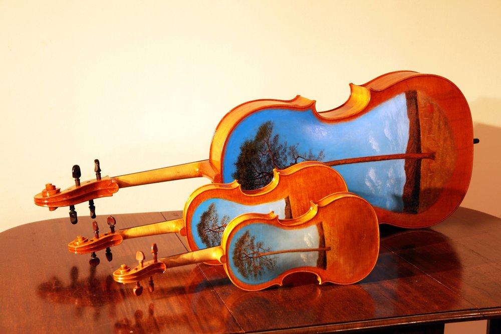 TSUNAMI Violins (violin, viola, cello)
