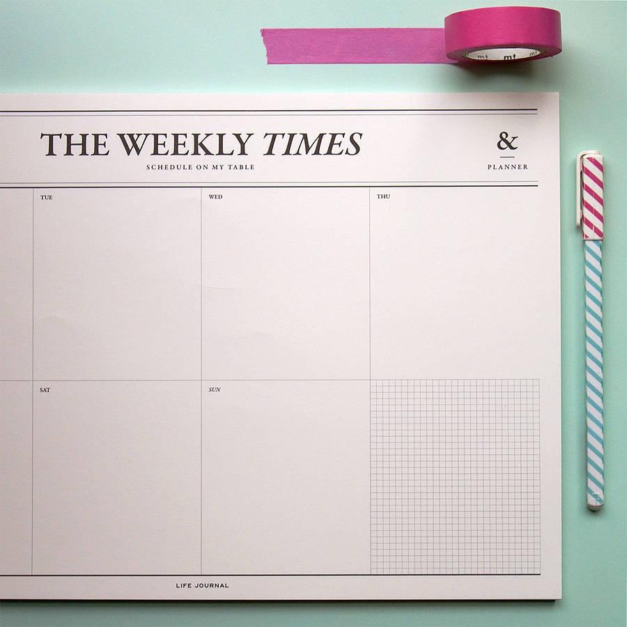 Christmas Planner Planning