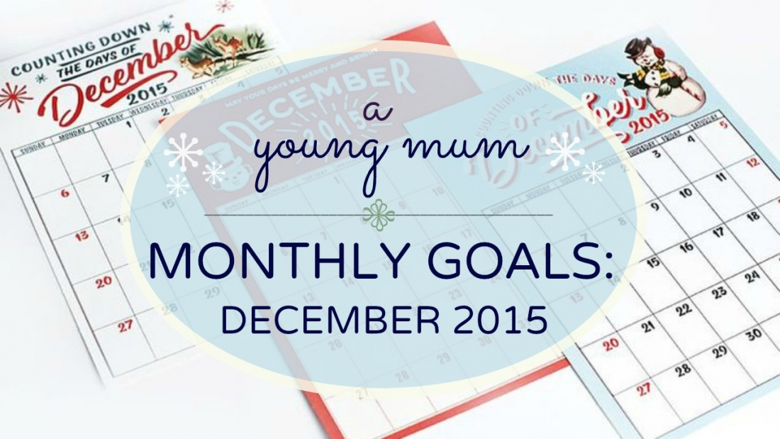december monthly goals