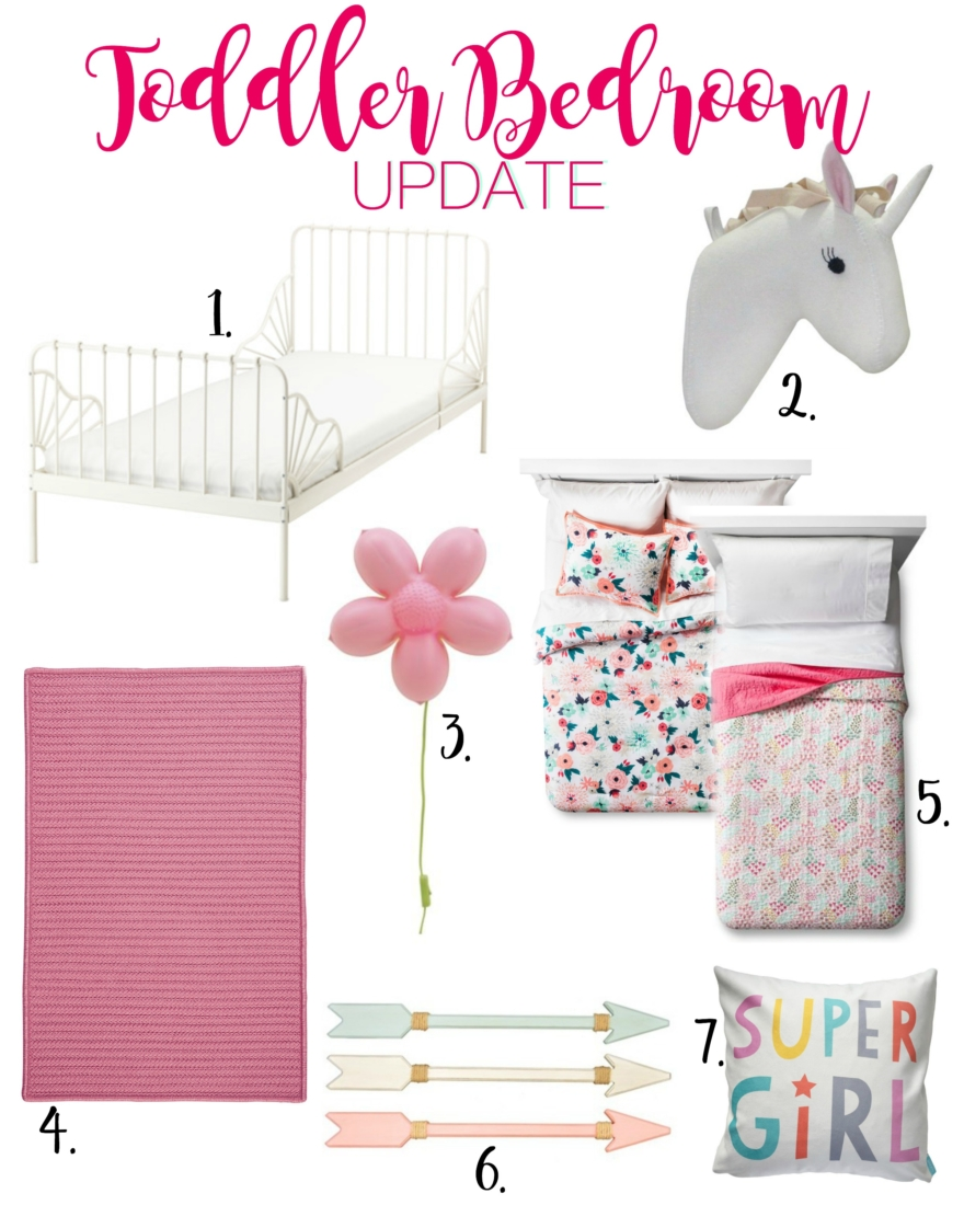 toddler girl bedroom