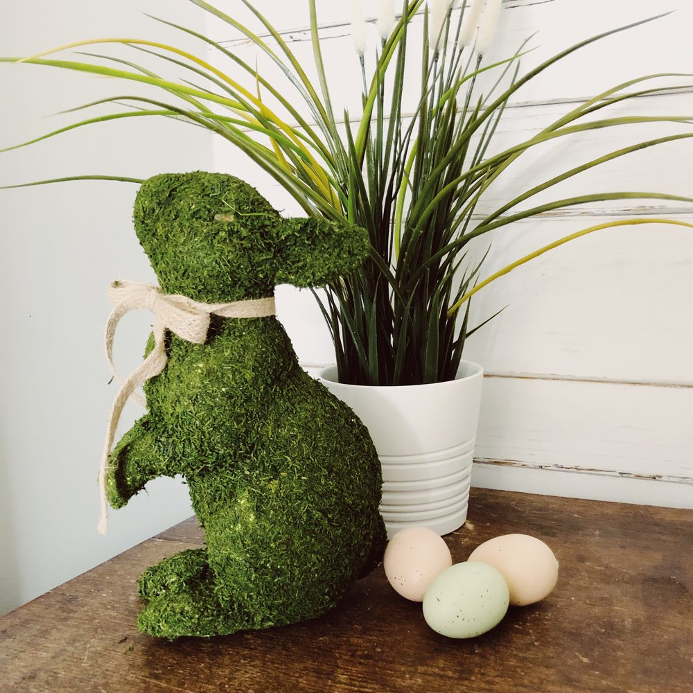 Moss Covered Bunny