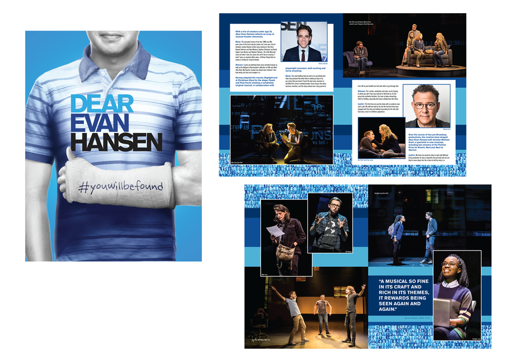 Dear Evan Hansen souvenir book