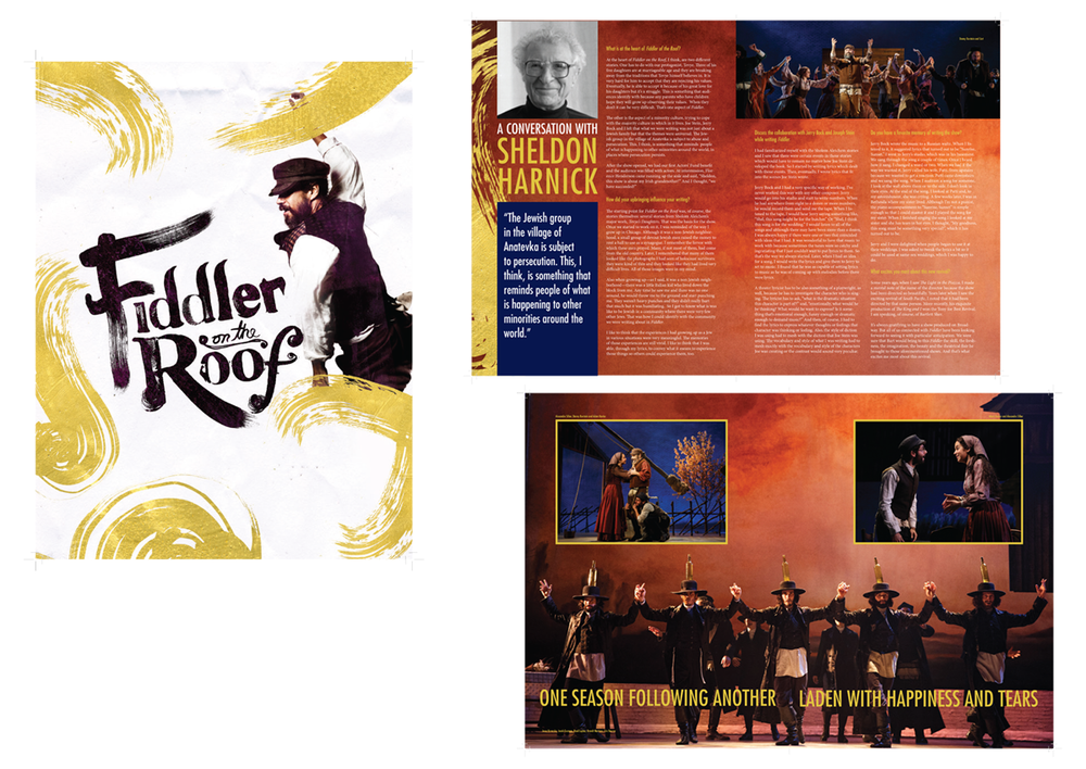 Fiddler on the Roof souvenir book