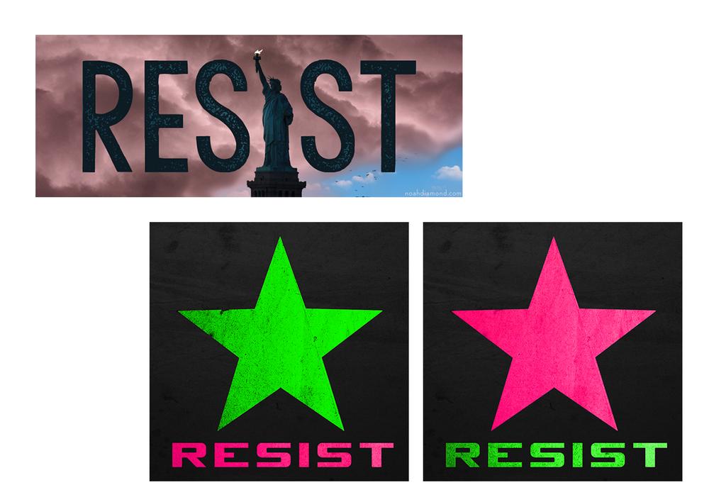 Resist memes (2017)