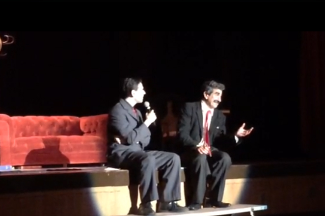 A conversation with Frank Ferrante, on stage following his performance of  An Evening With Groucho in Freeport, Long Island.