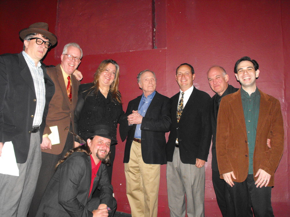 The Marx Brothers on Television:Dick Cavett tolerates the Marxfest Committee at the Players Theatre.