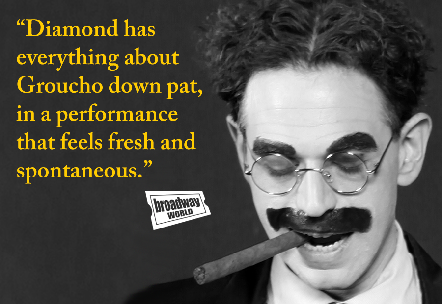 Noah Diamond As Groucho Marx Noah Diamond