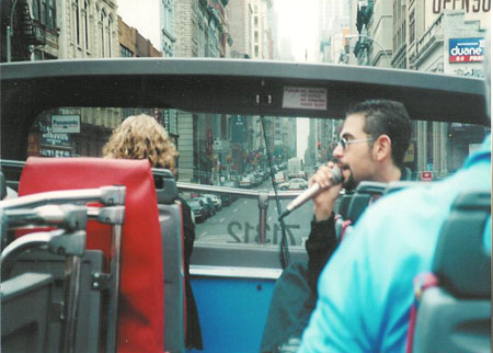 Tour guide memories: Singing my song on the double-deckers, summer of 2001