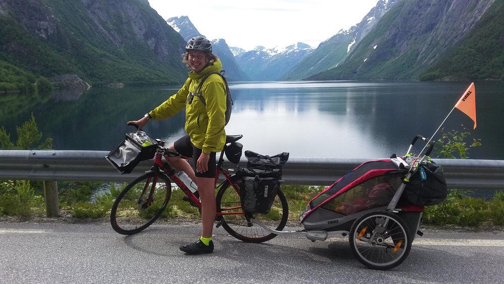 Sykkelferie med familien 2017