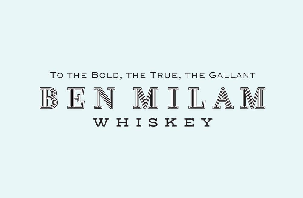 Ben Milam Whiskey Logo