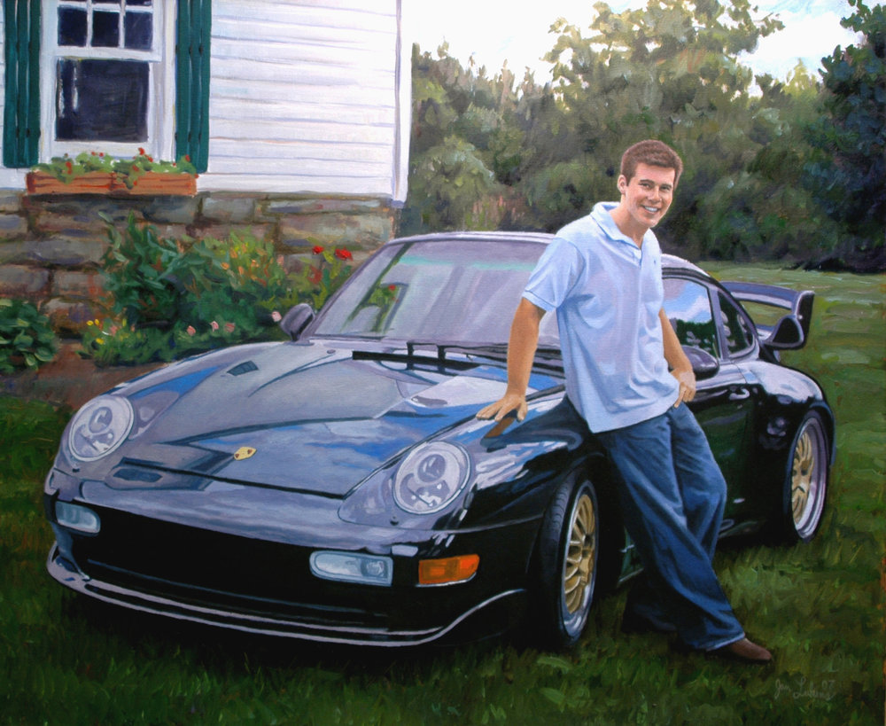 Alex & His Porche