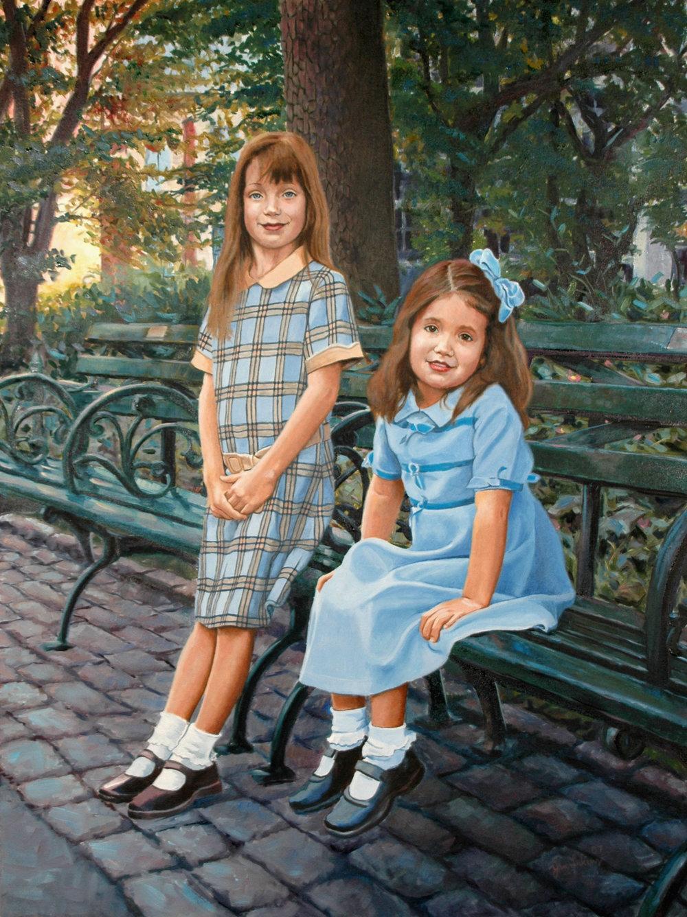 Cebula Sisters in Central Park