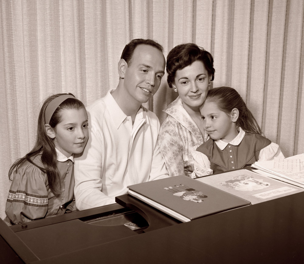 1960 Williams family's music time