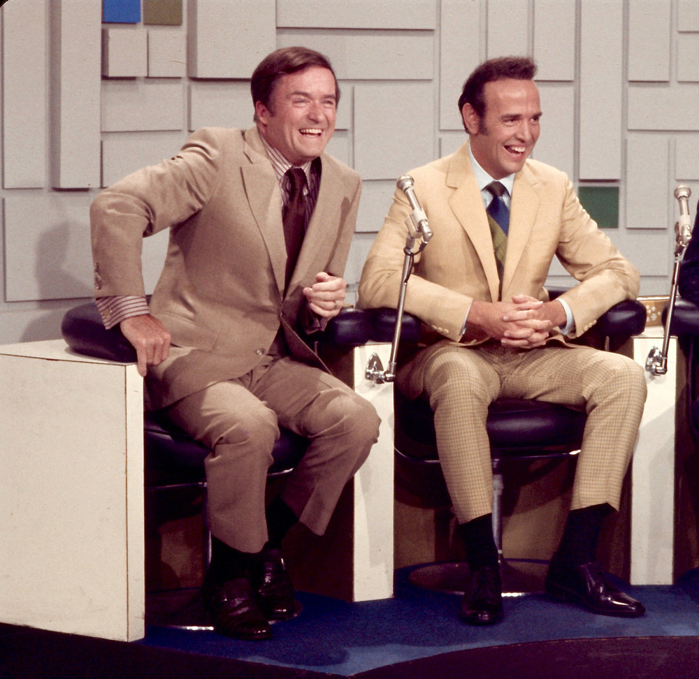Mike Douglas with Roger