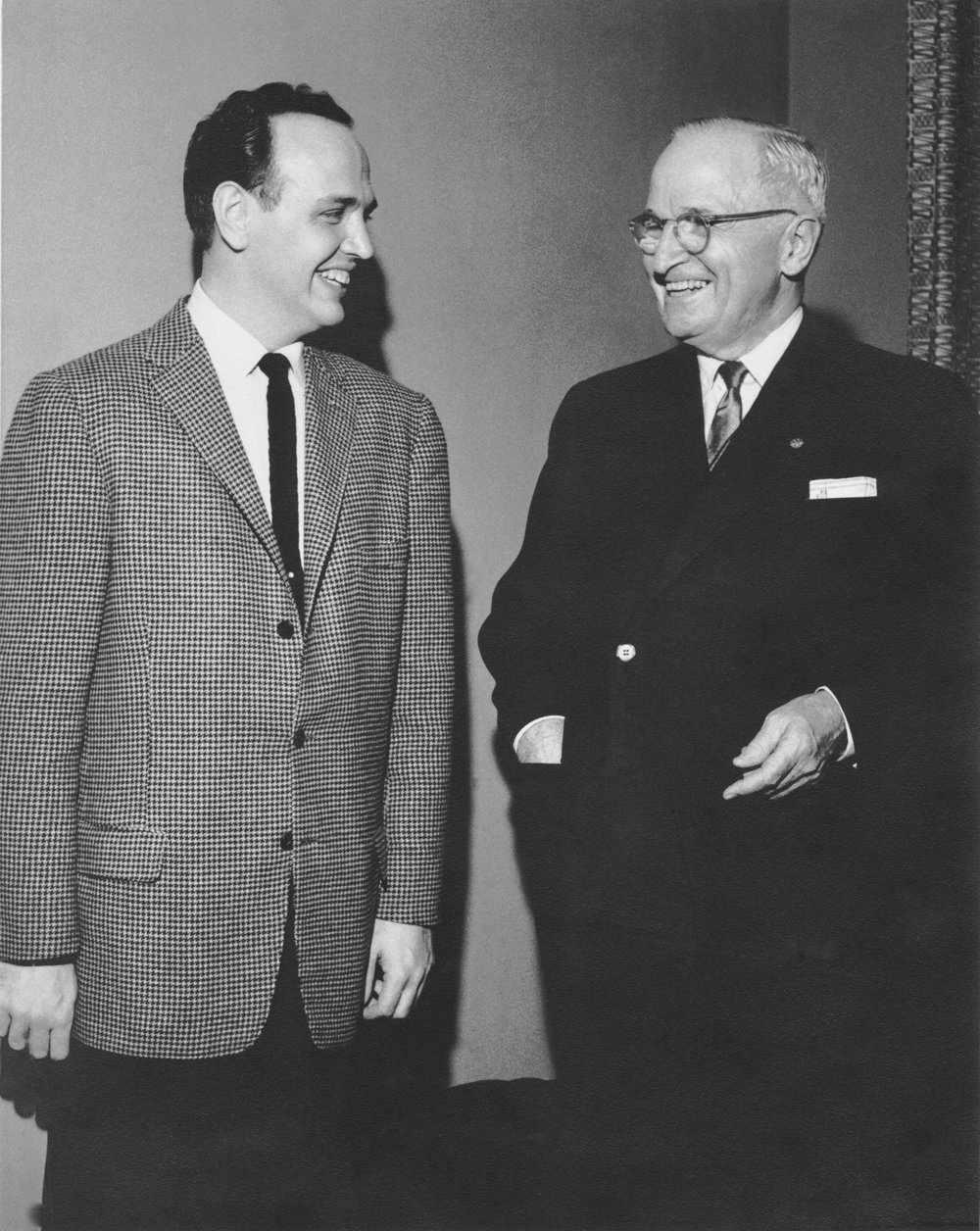 President Harry Truman with Roger