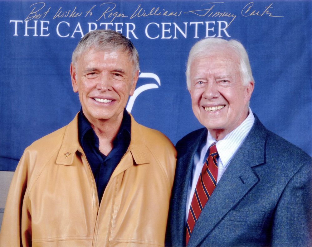 President Jimmy Carter and Roger