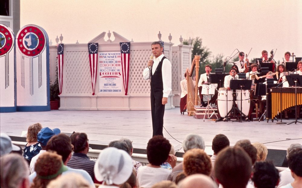 Roger performs at Walt Disney World Resort in Orlando