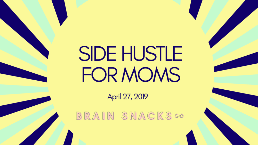 Side Hustle for Moms - Many moms have side hustles to get the bills paid. Learn the fundamentals of starting your own side business and get feedback on your ideas.Learn from moms with profitable side hustles.