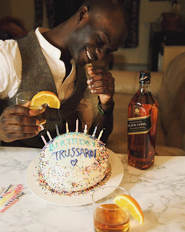 Today is Trussardi's birthday and we're ready to celebrate! ✨🎉 @johnniewalkerus  #keepwalkingamerica #johnniewalker #ad