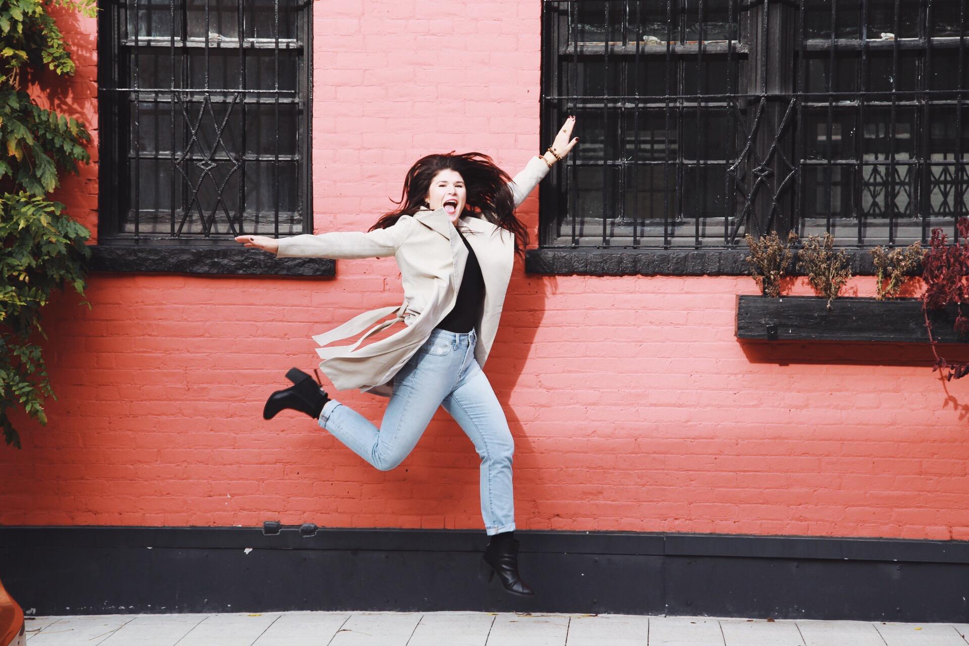 jump for joy style