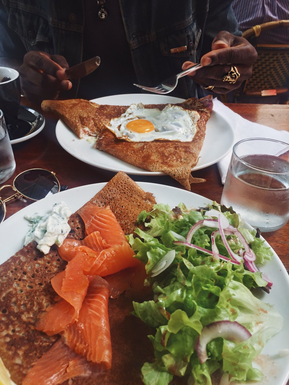 paris crepe breakfast