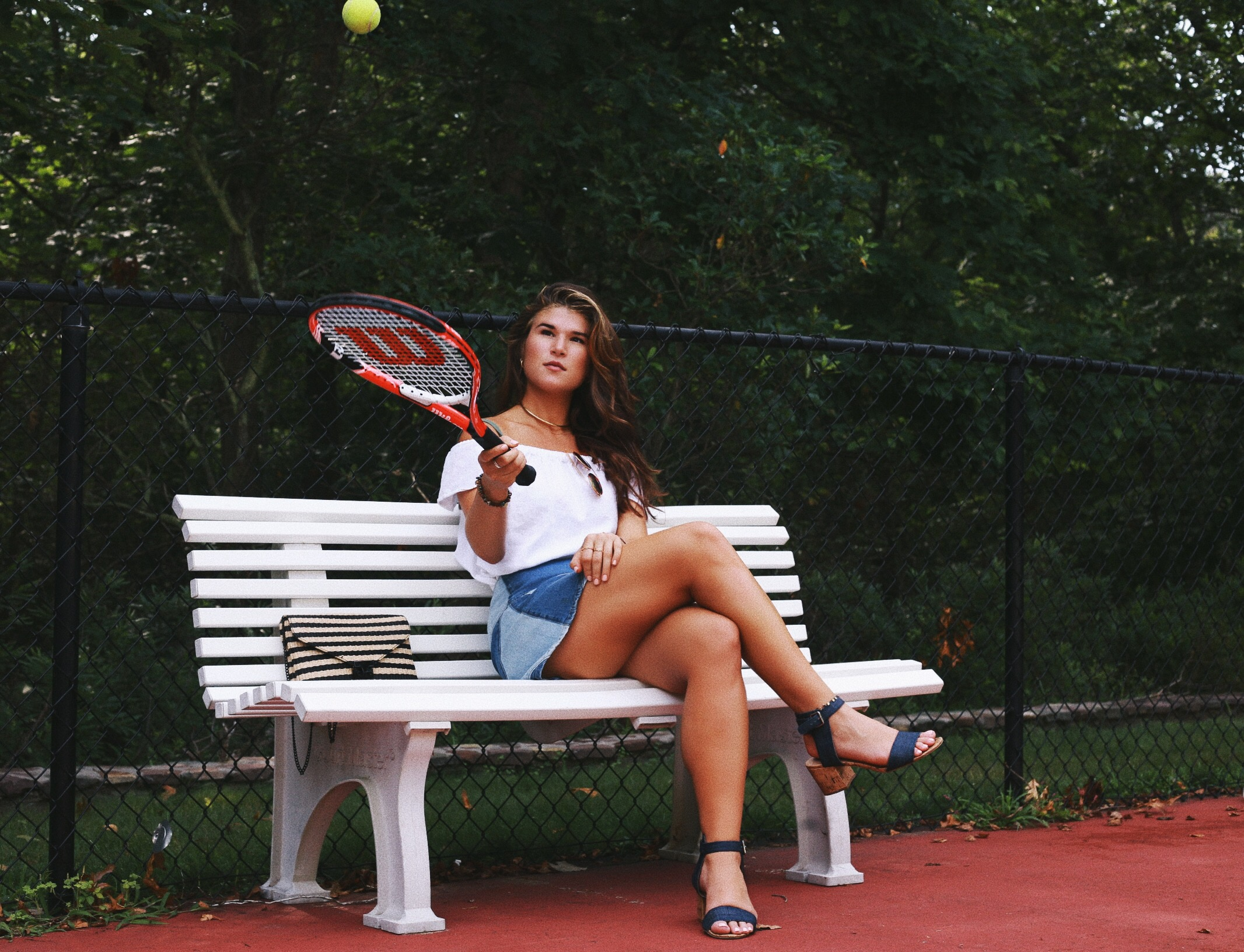 nikki hirst tennis in the hamptons