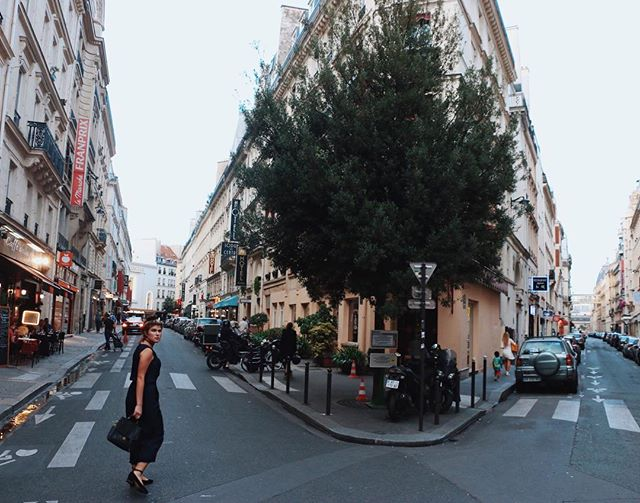 exploring the streets of Paris never gets old. ✨  #ourstyleadventure