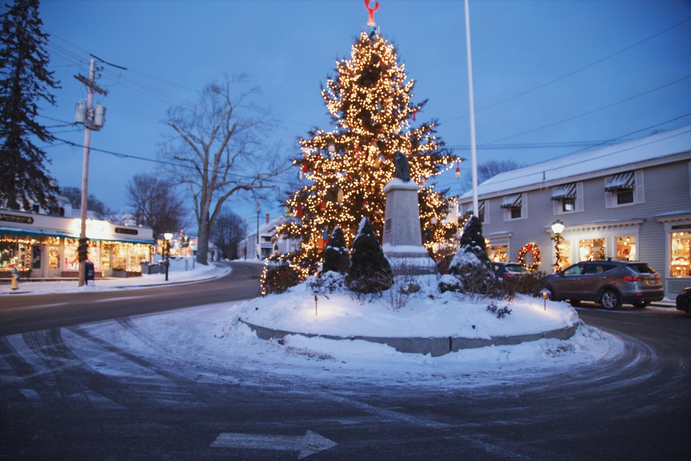 Kennebunkport winter holiday nye