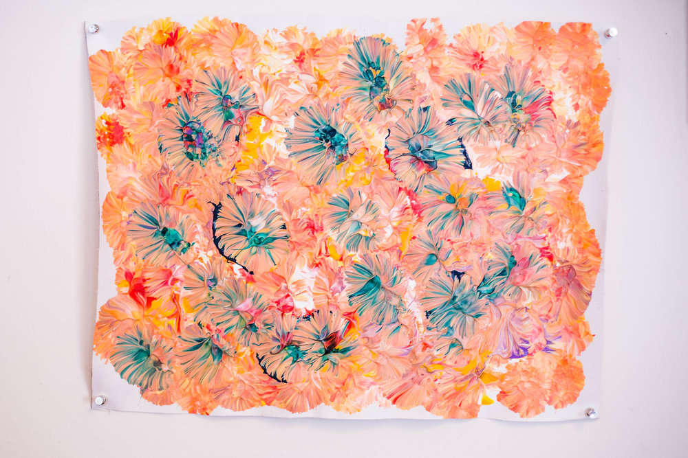 Unframed Flowers