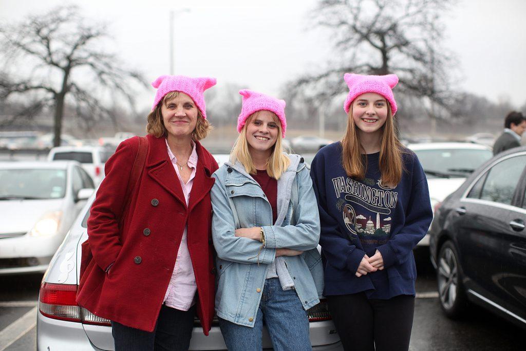 Dawn, Annika and Robin Tucksmith