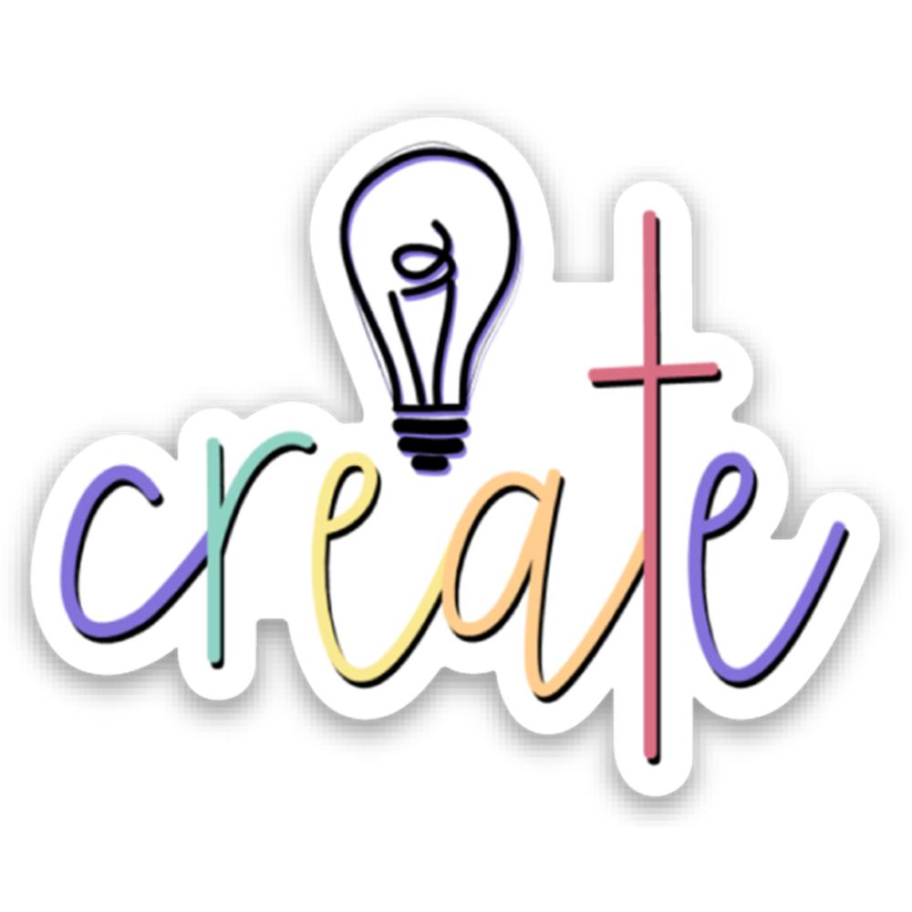 Create vinyl sticker for laptop or water bottle