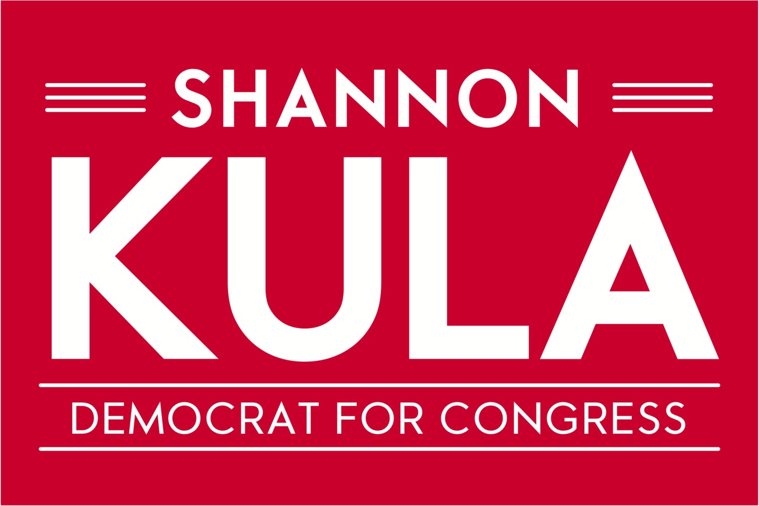Shannon Kula for Congress
