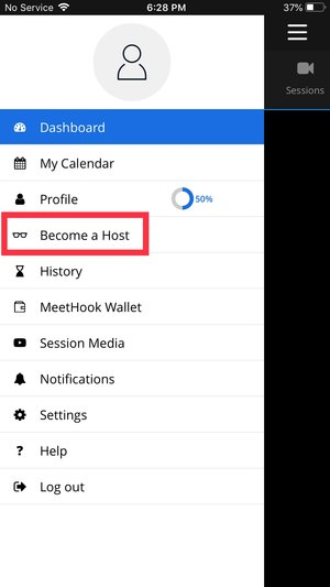 MeetHook apps – Become a Host