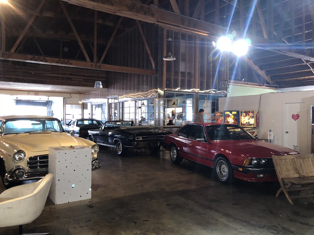 Inside of Classic Cars West