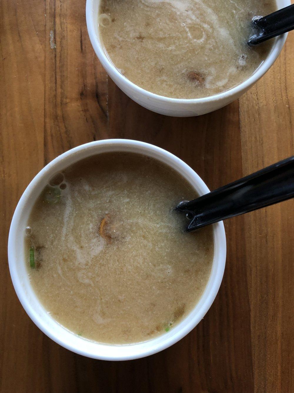 Nameko Mushroom Miso Soup