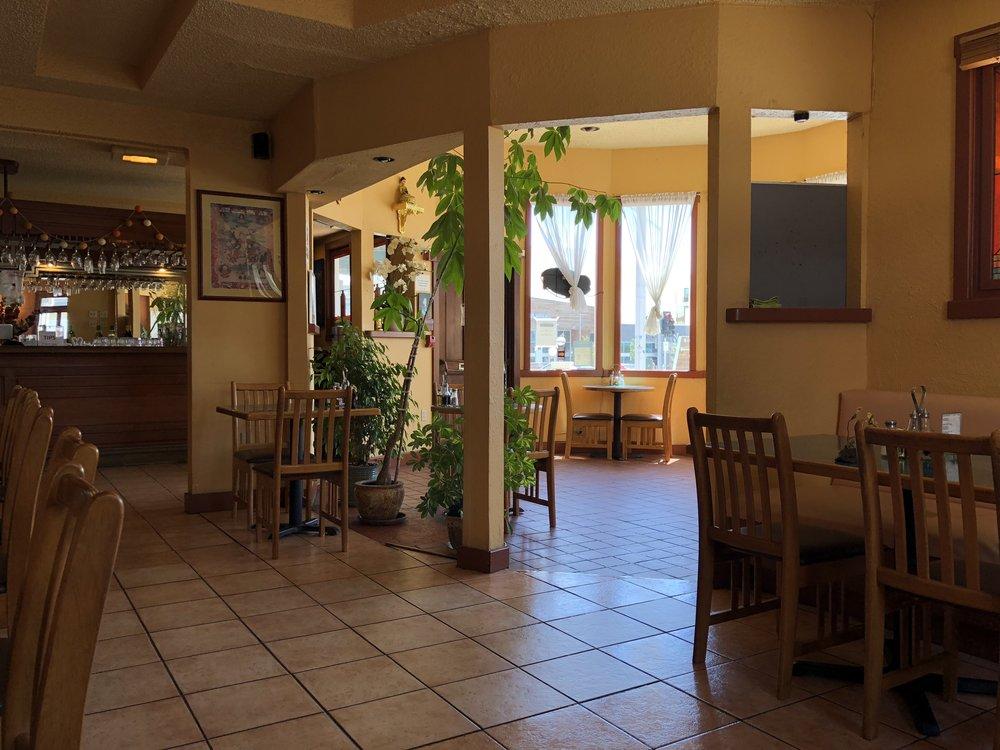 potala's sunny entryway