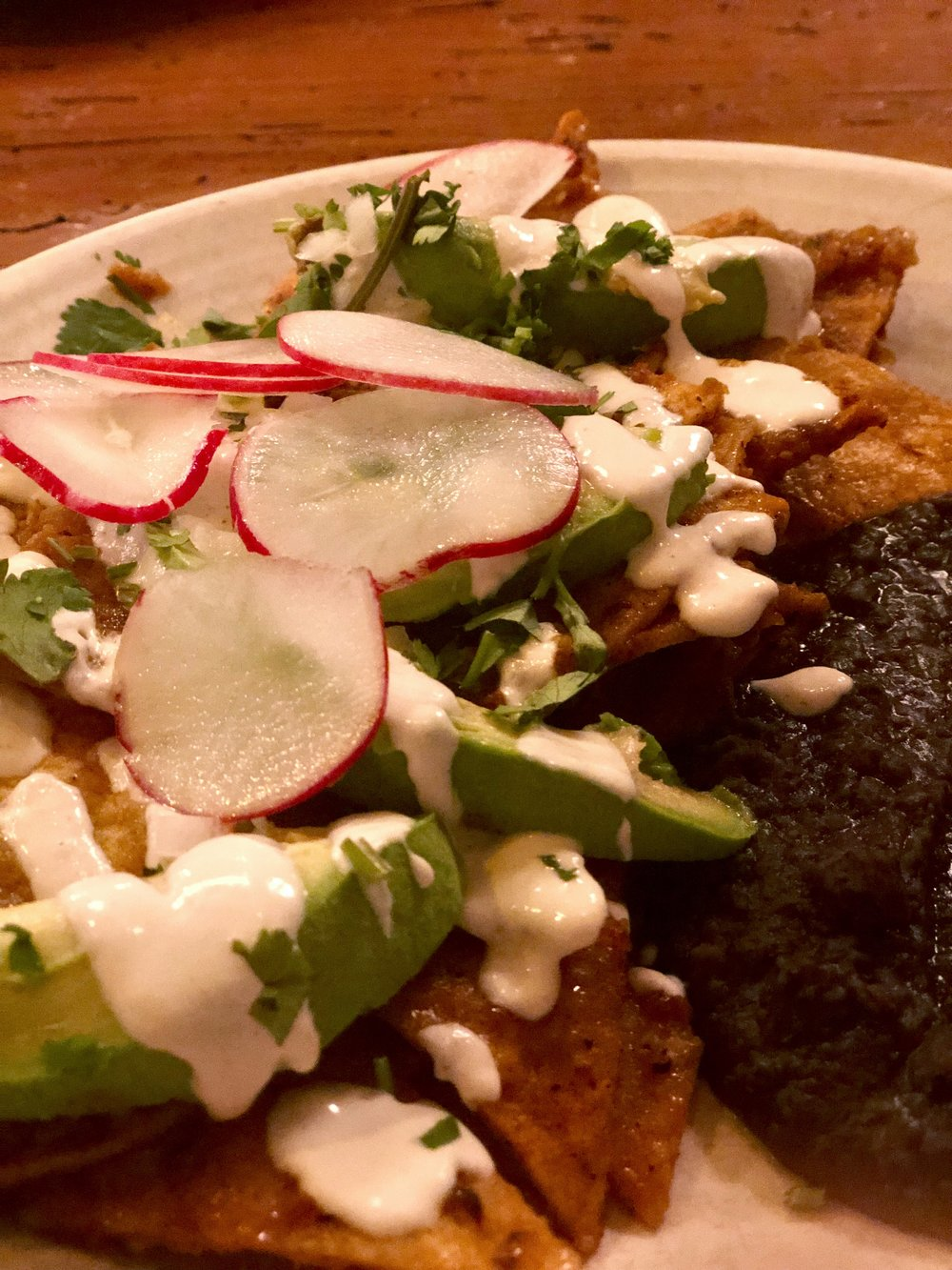 Chilaquiles Close-Up!