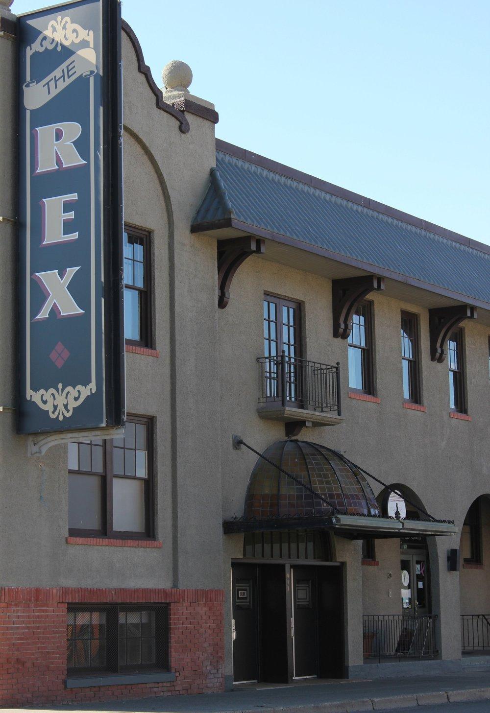 Listening Location:  The Rex  417 Seymour Street