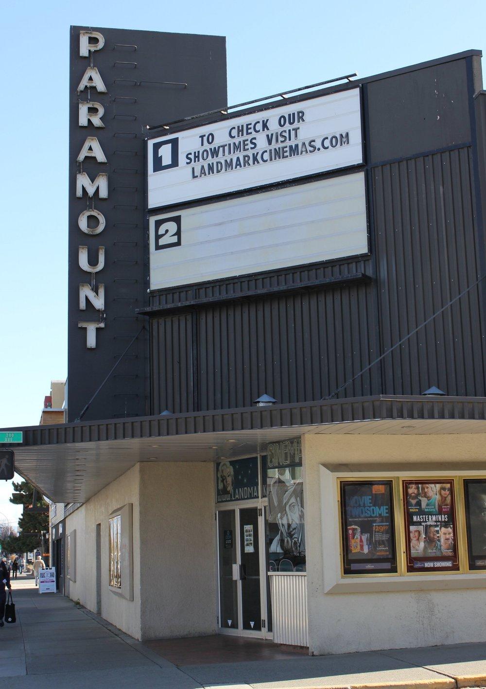Listening Location:  Paramount Theatre  503 Victoria Street