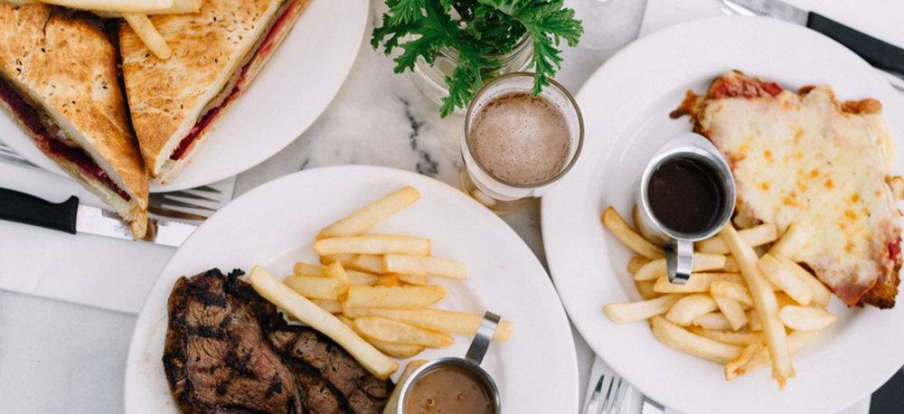 TRH_Flatlay-Dinner-Steak-Sanga-Gravy-Drinks.jpg