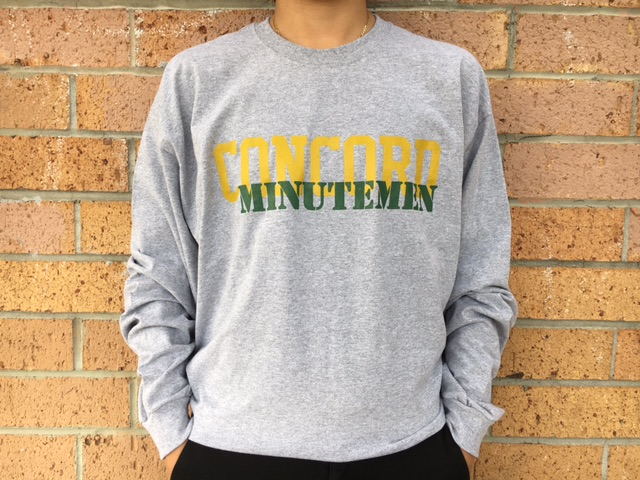 Grey CHS long-sleeve - $12.00