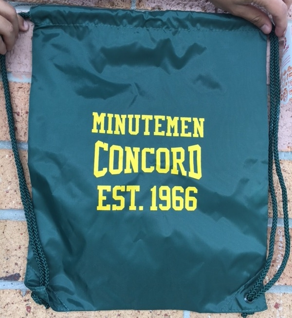 Green CHS cinch bag - $15.00