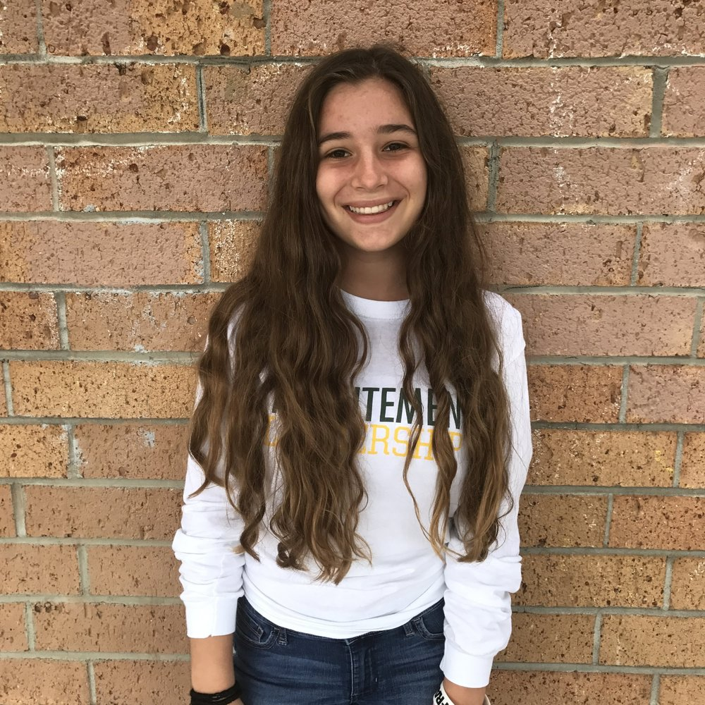 Sophomore Vice President - Rachel Enea