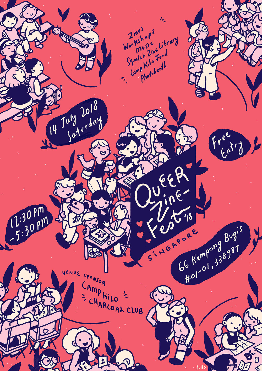 Look at this gorgeous poster that Joy Ho illustrated!
