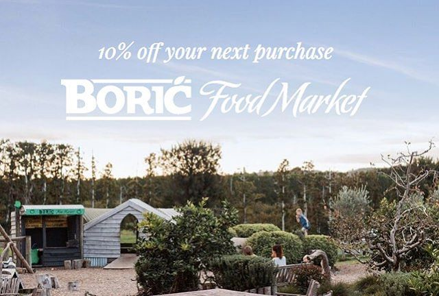 . — We have some exciting news to announce — . . Very soon we will be launching a brand NEW WEBSITE! To celebrate this new arrival, we are offering 10% off your next purchase (t&cs apply). Go to www.boricfoodmarket.co.nz (link in profile) to receive your exclusive 10% off. By registering your email, you will also find out about some fresh and interesting things happening at Boric Food Market. . . We can't share what these things are just yet, but trust us, you'll love them, so stay tuned to find out more. So shhhh... to give you a little heads up, we have planned some special events and food related initiatives that will make your experience with us even more memorable and magical. Tag a friend who you think might be interested in all of this!